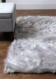 fake sheepskin rug gray faux fur rug hand woven faux sheepskin gray area rug fake sheepskin