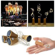 fairy lights ebay uk. image is loading led-solar-wine-bottle-cork-shaped-copper-wire- fairy lights ebay uk e