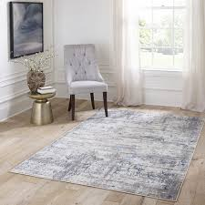 traditional distressed design area rug blue contemporary area rugs by momeni rugs