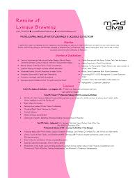 Sample Resume For Cosmetology Student Resume For Study