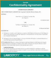 What Is A Confidentiality Agreement New Non Disclosure Agreement ...