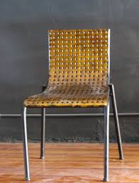 Woven metal furniture Bench Metal Woven Chairjpg Foundry42 Gold Black Woven Metal Chair Foundry42