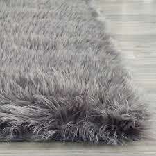 flooring rugs marvellous design red and gray area black jean pierre faux fur