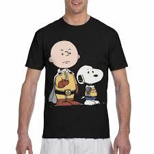 Clothing LOLA HOPE Mens Vintage One Punch Man Peanuts T Shirt ...