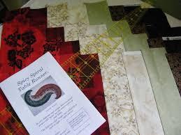 Quilt, Knit, Run, Sew: Spicy Spiral Table Runner & Spicy Spiral Table Runner Adamdwight.com