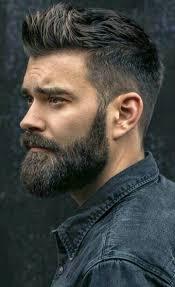 Great Beard And Hair Mens Hair Style Beard Styles For Men