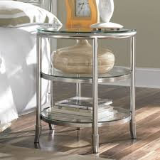 metal glass night stands — new decoration  install a lock on a