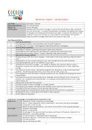 sample resume for a montessori teacher resume samples sample resume for a montessori teacher sample montessori teacher resume sample livecareer montessori teacher resume examples