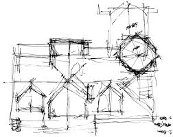 mountain architects hendricks architecture idaho blog Steel Structure House Plans rough sketch roof plan design of the waterfront home steel structure home plans