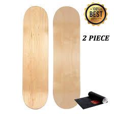 Best Light Deck Losenka Maple Skateboard Decks Double Tail Skateboard Light Decks Free Skateboard Grip Tape 2 Pcs