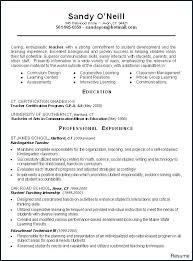 Sample Elementary Teacher Resumes Sample Substitute Teacher Resume ...