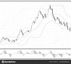 Forex Stock Chart Data Candle Graph Stock Vector