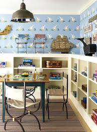 cottage style shelves kids playroom with built in bookshelves shelf unit