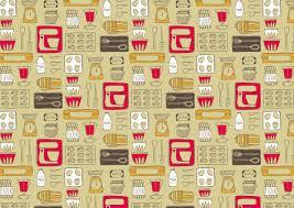 2 Piece Retro Kitchen Retro Kitchen Wallpaper Spoonflower Retro Kitchen 2 10684