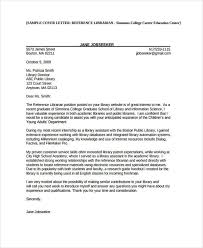 Cover Letter For Librarian Enchanting 48 Librarian Cover Letter Free Premium Templates