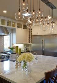 modern kitchen lighting design. Kitchen Lighting Is Firefly From The Designer Used Three Sets Of Thes Lights Above Island. Amarant Design And Build Center Modern I