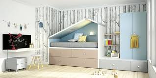 white children s bedroom furniture set blue wooden uni bremen