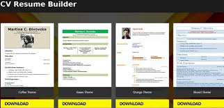 Free Resume Builder App 40 Minute CV Templates Android App Simple Resume Builder App Free