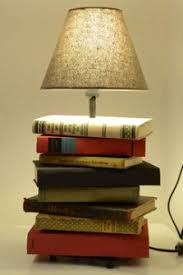 the best diy idea a l made from old books and a l foot bought