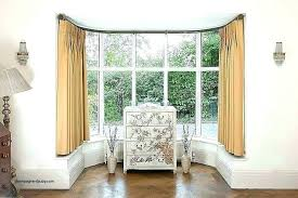 drapes for bay window windows curtain poles r69