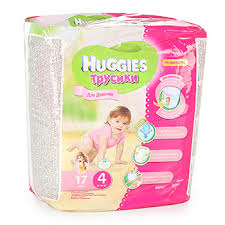 <b>Трусики</b> детские <b>Huggies Little</b>-Walkers L (9-14кг) для девочек ...