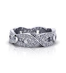 infinity wedding rings. diamond-infinity-wedding-rings-iwrlp-1 infinity wedding rings