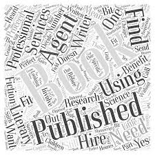 Getting A Book Published Do You Need An Agent Word Cloud Concept