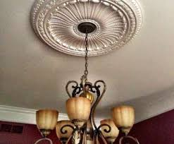 how to install a ceiling light medallion brilliant who should install ceiling medallions