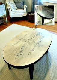 coffee table makeover french typography coffee table makeover before after diy wooden coffee table makeover