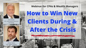 Webinar: HOW TO WIN NEW CLIENTS DURING & AFTER THE CRISIS - International  Executive Technology Inc.