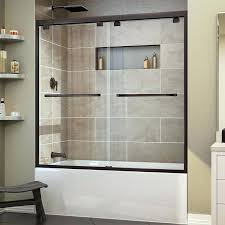 delta shower door installation half glass shower door for bathtub pivot tub door delta contemporary shower