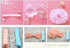 How To Make Tissue Paper Balls Decorations how to make paper flower balls for wedding diy hanging flower ball 7
