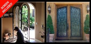 wrought iron door gallery