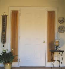 curtain for front doorFront Door Window Curtains Idea  Cabinet Hardware Room  More