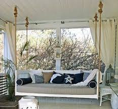 hanging porch beds