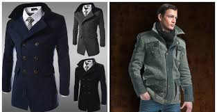 mens coats 2018 double ted coat jacket coat jacket