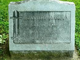 Jeannette McCarty Garrison (1902-1981) - Find A Grave Memorial