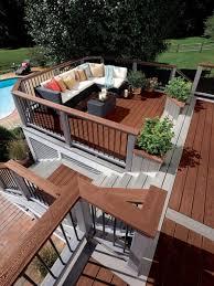 backyard deck design ideas. Deck Designs: Ideas \u0026 Pictures | Hgtv Throughout Backyard Design C