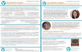 Mental - Campus In New Advocacy Minds Resource Need Releases On Young College Yma Health