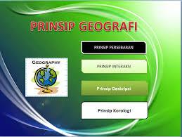 Image result for prinsip geografi