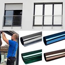 Details Zu 549m² Spiegelfolie Fensterfolie Spiegel Folie Fenster Uv Sichtschutzfolie