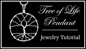 Wire Wrap Dream Catcher Tutorial How to Make a Tree of Life Pendant Easy Wire Wrapped Jewelry 43