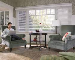 Wide Window Treatments wide white horizontal blind window treatment idea for large window 1308 by xevi.us