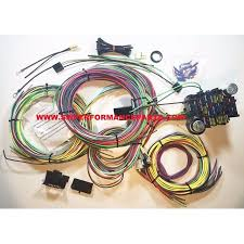 new 21 circuit ez wiring harness chevy mopar ford hotrods universal ez wiring harness manual new 21 circuit ez wiring harness chevy mopar ford hotrods universal x long wires