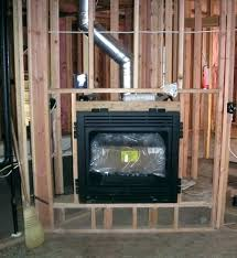 replacing fireplace insert replacing fireplace how to replace a gas fireplace insert installations heating air conditioning