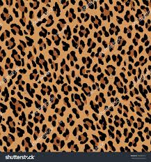 Leopard Pattern Stunning Seamless Leopard Pattern Natural Fur Leopard Stock Vector Royalty