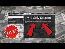 invite only session gta 5
