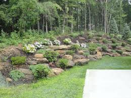 natural steep slope landscaping ideas | Klein's Lawn & Landscaping |  Landscapes | Designed Landscapes