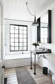Amazing Badezimmer Einrichtung Schwarz Und Vor Allem Weiß Design Ideas