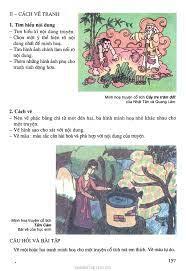 SGK Âm Nhạc và Mĩ Thuật 8 - Bài 28. Vẽ tranh - Minh họa truyện cổ tích